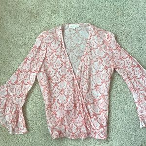 Lovestitch Top with flare sleeve